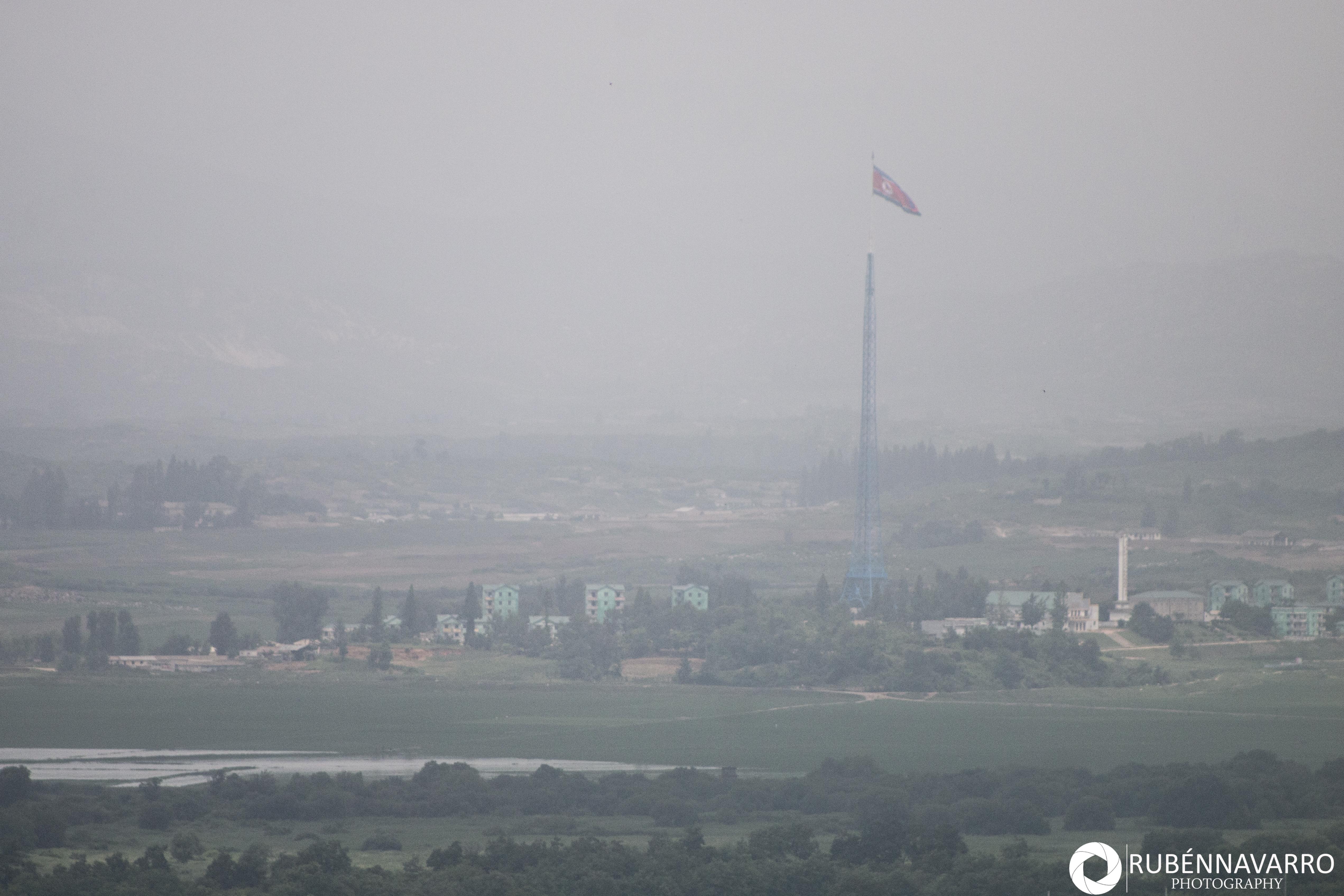 Visitar la frontera de Corea del Norte