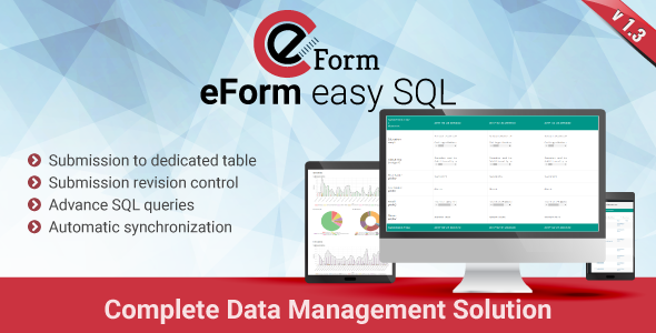 eForm Easy SQL v1.3.0 – Submission to DB & Revision Control