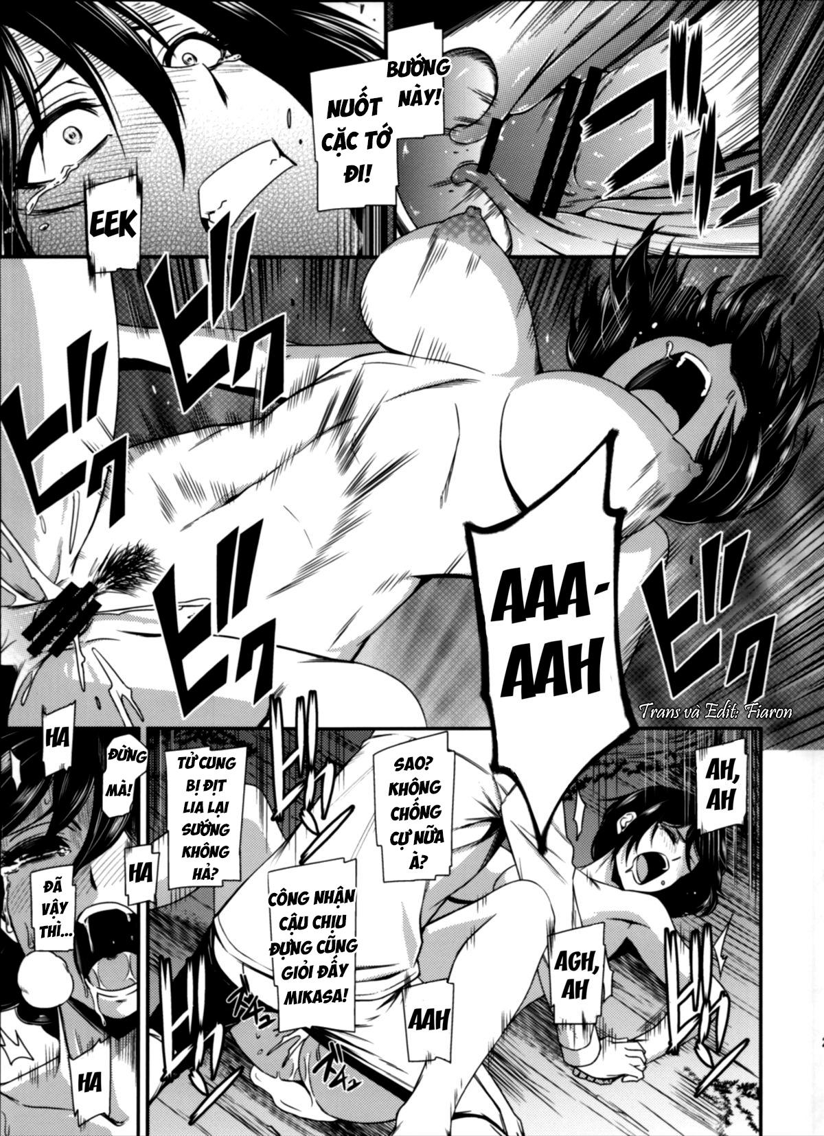 HentaiVN.net - Ảnh 32 - Gekishin (Attack on Titan) - Firing Pin - Gekishin Yon