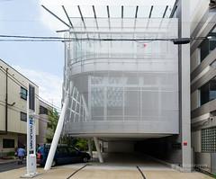 The Facade of Kikukawa Group, Tokyo Office (キクカワグループ東京オフィスビル)