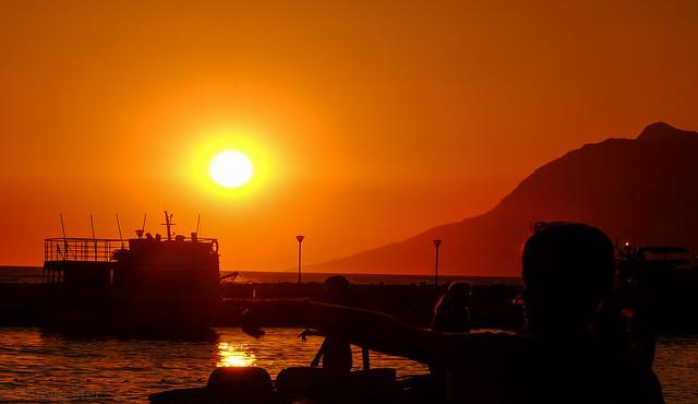 Sunset in Baska Voda, Fujifilm X-T1, XF18-135mmF3.5-5.6R LM OIS WR