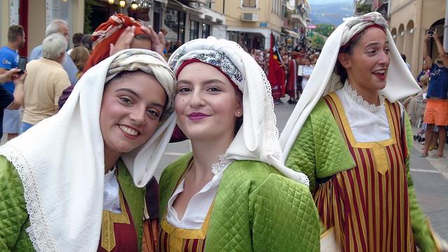 Παρέλαση 55ου Φεστιβάλ Φολκλόρ Λευκάδας - Πεζόδρομος