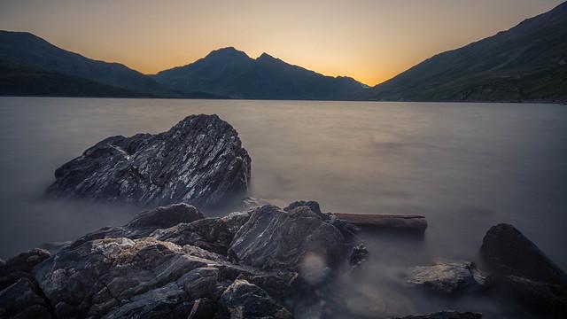 Lac du mont Cénis