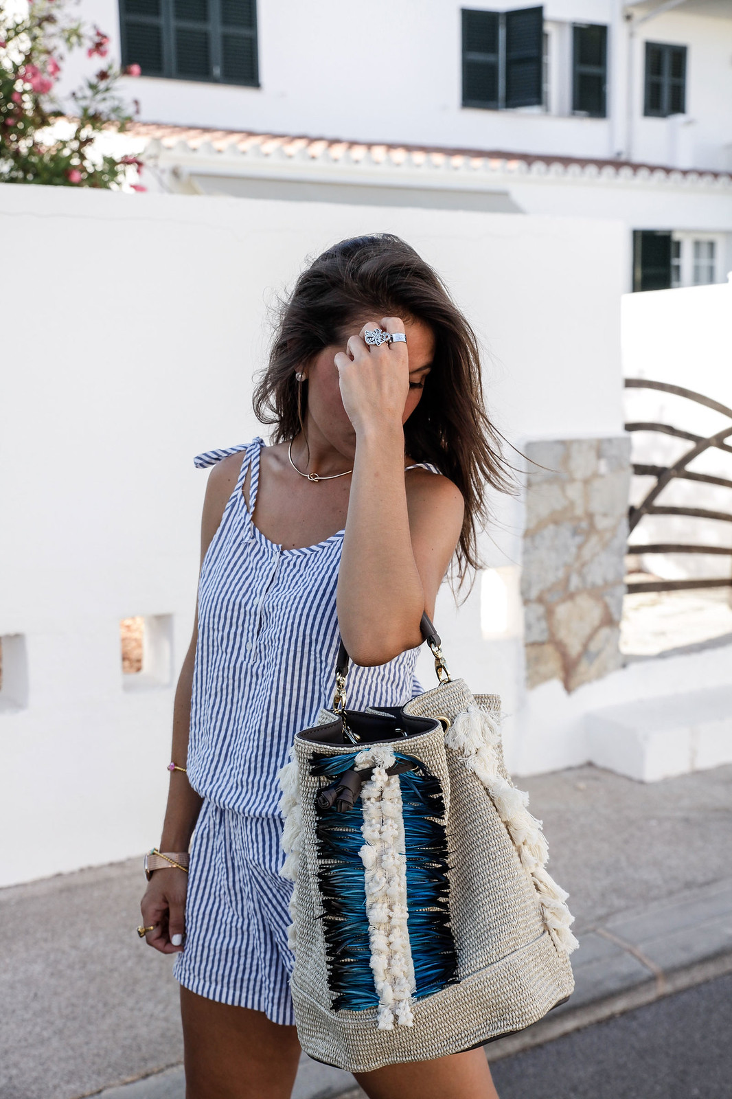 012_Mono_rayas_marineras_casual_outfit_theguestgirl_bolso_boho_via_email_pieces_style_the_guest_girl_influencer_menorca_minorca_barcelona_spain_fashion_blogger