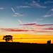 Swarby Sunset Panorama