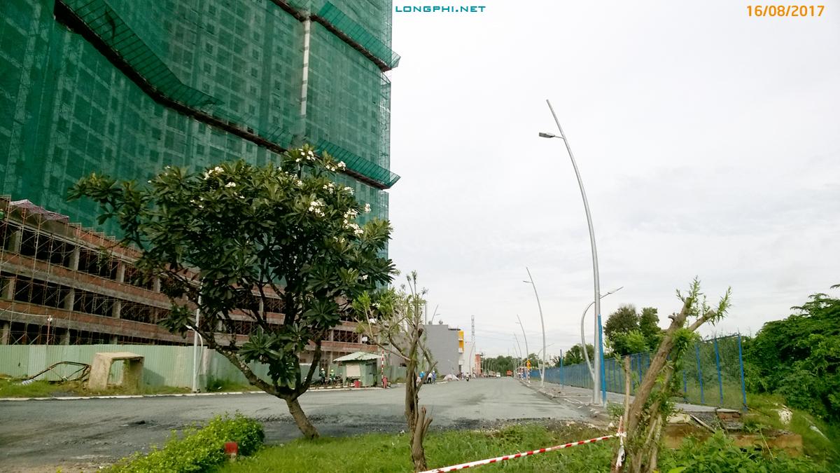 Đường N8 Jamona City ngày 16/08/2017.