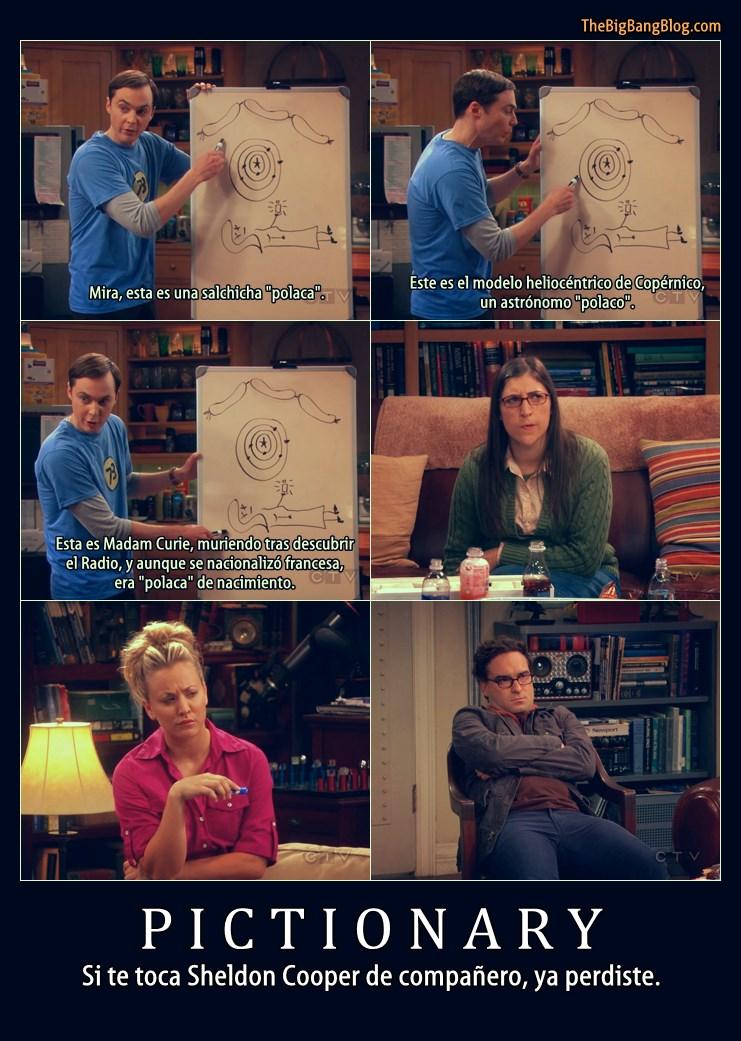 Pictonary - Sheldon Cooper el peor