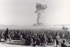 the sudden release of Atomic Power.