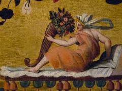 ALLORI Alessandro,1572 - Dossier de Lit avec Sc�nes Mythologiques et Grotesques, L'Enl�vement d'Europe (Florence) - Detail 13