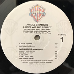 JUNGLE BROTHERS:J. BEEZ WIT THE REMEDY(LABEL SIDE-A)