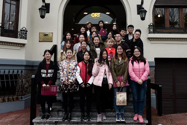 Bienvenida estudiantes de China - agosto 2017