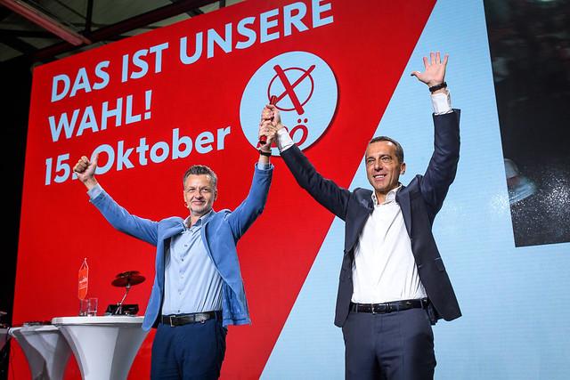 FSG-vida Wahlkampfauftakt in Linz