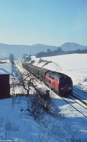 Das waren noch Güterzüge...