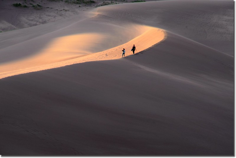 Dusk at Great Sand Dunes National Park  (16)
