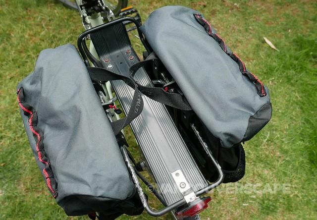 Axiom Seymour Oceanweave P35+ pannier set