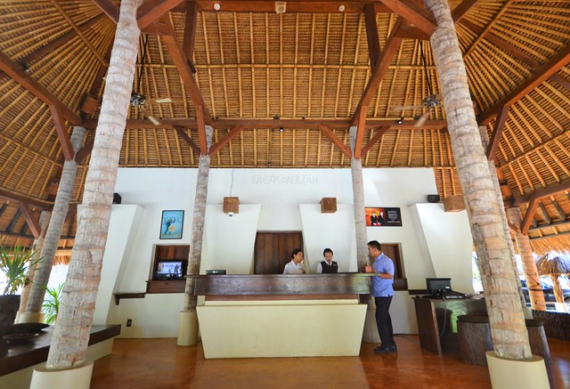 novotel lombok resort and villas lobby