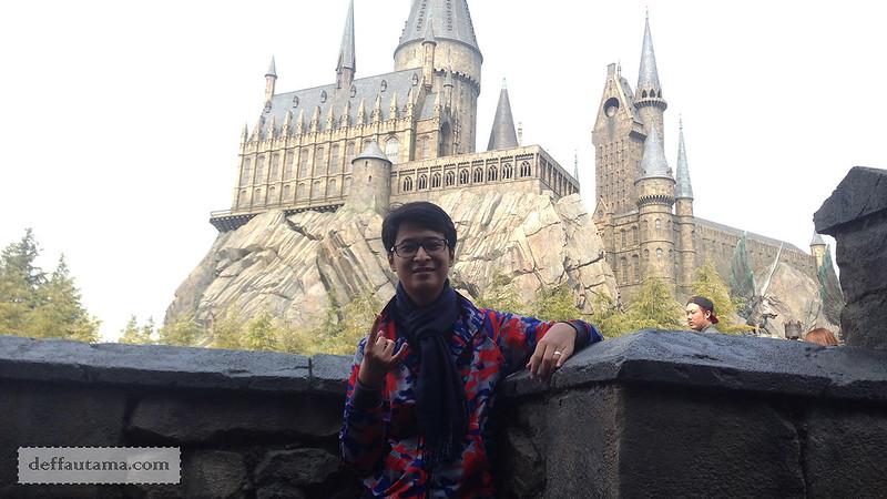 2 Hari Keliling Osaka - Hogwarts Castle