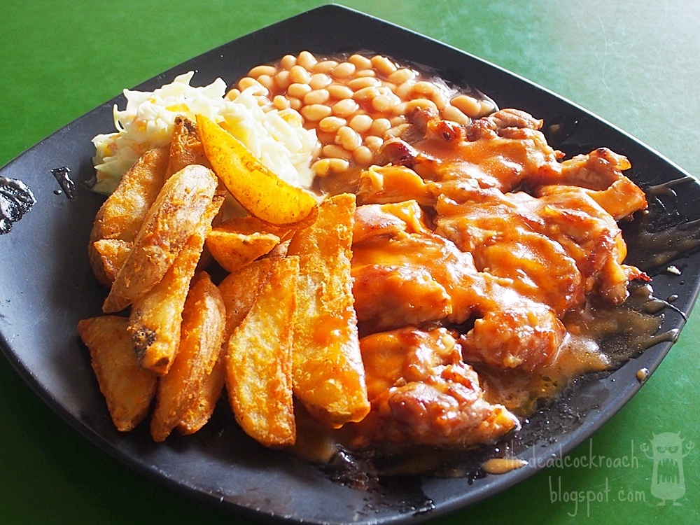 food, review,food review,peter pan western food,western food,singapore, bukit timah market & food centre, bukit timah,chicken chop,peter pan chicken chop,peter pan