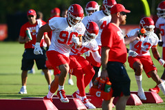 2017 Chiefs Training Camp: Day 2