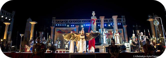 Tanit desvela a la princesa Himilce el futuro de Qart Hadast