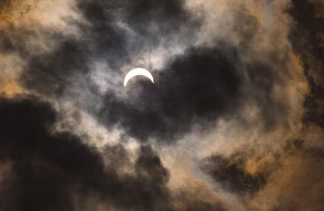 Eclipse in Michigan