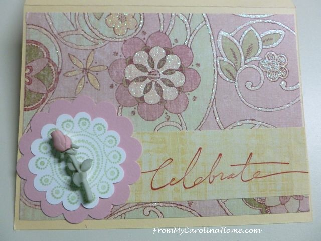 Stamping Fun in August at From My Carolina Home
