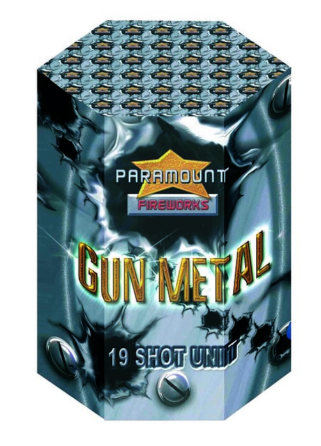 Gun Metal 19 Shot CE Barrage #EpicFireworks
