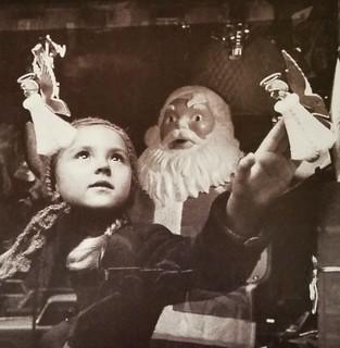 vintage christmas, 1958, Milan...from a 1999 christmas catalog...2017-08-16