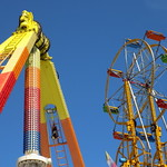 Extreme And Sky Wheel Rides.
