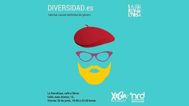 2017 - «DIVERSIDAD.es» de acciónenred en La Revoltosa