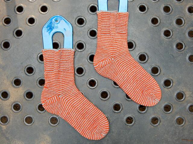 полосатые носки | striped socks - 10