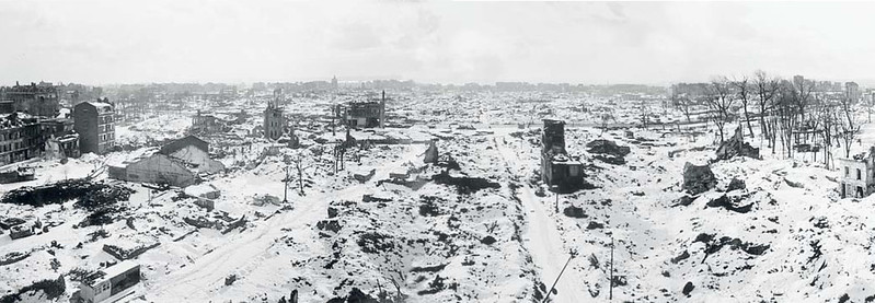 Le Havre in January 1945