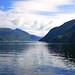 Reflections in Jøsenfjorden, Norway by Andrey Sulitskiy