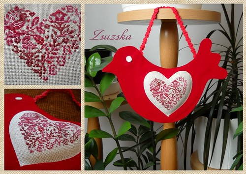 red bird, isa vautier, cross stitch (2)