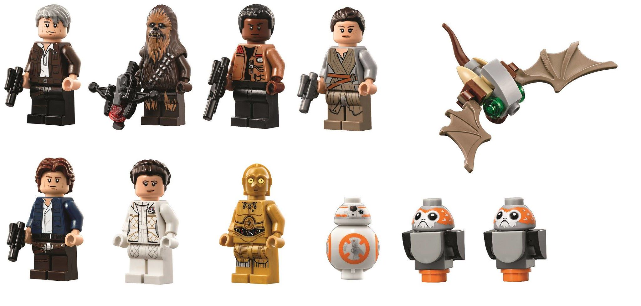 Minifigs and figures