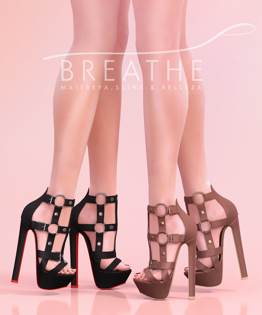 [BREATHE]-Cara Heels - SecondLifeHub.com