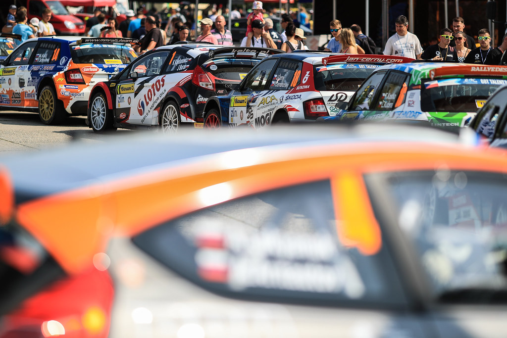 ambience during the 2017 European Rally Championship ERC Barum rally,  from August 25 to 27, at Zlin, Czech Republic - Photo Jorge Cunha / DPPI