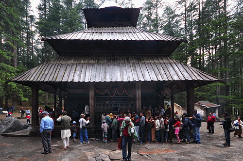 India - Himachal Pradesh - Old Manali - Hidimba Devi Temple - 225