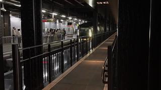 上野駅13.5番線越し