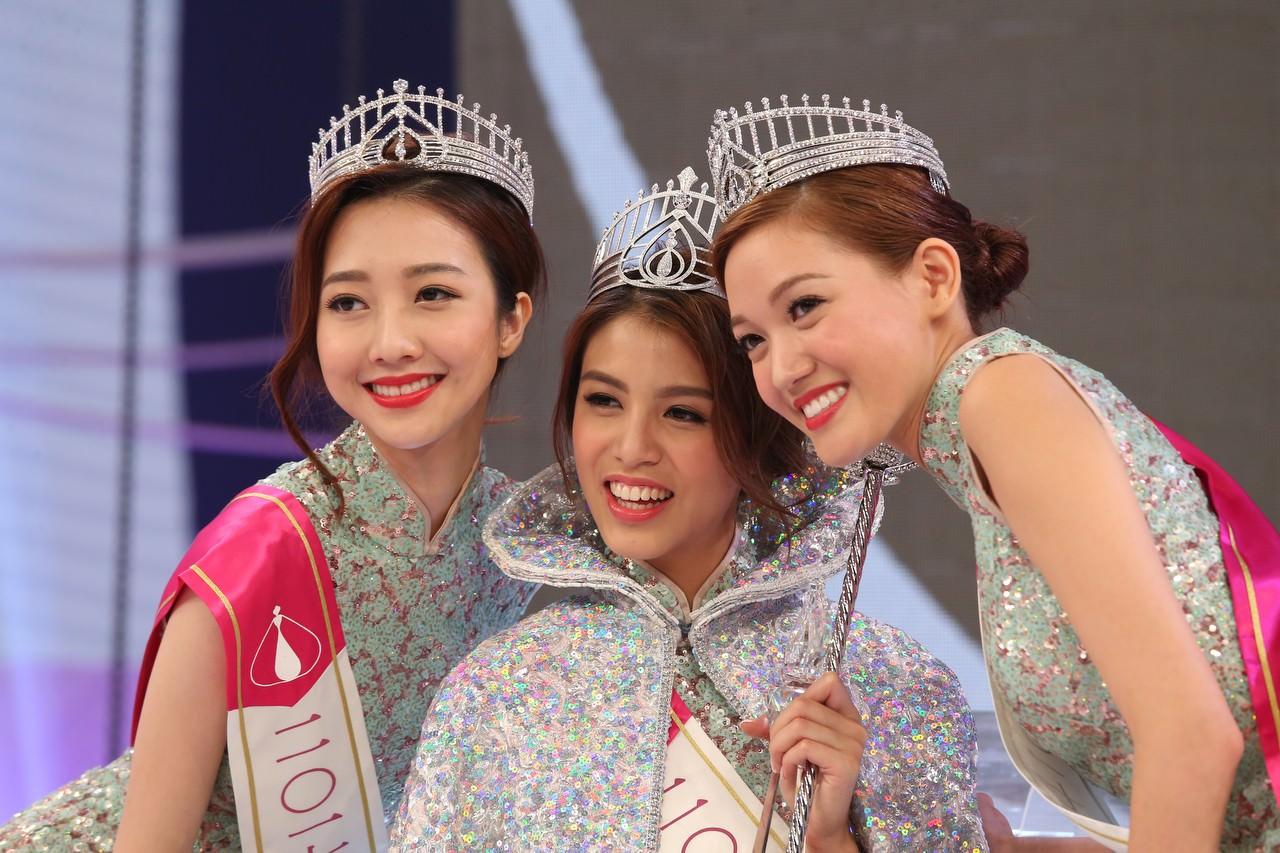 2017年度香港小姐。(資料圖片/黃國立攝)