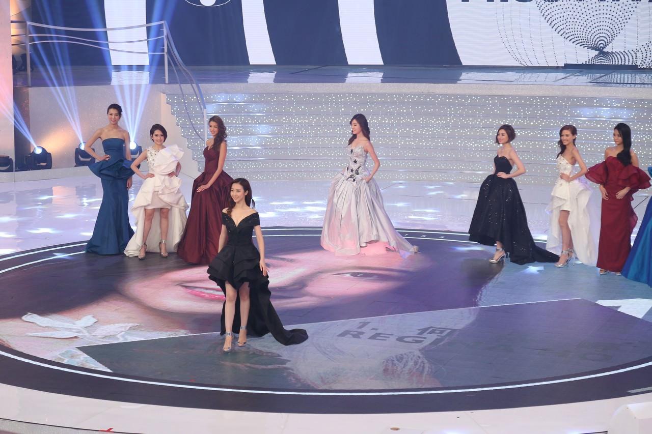 2017香港小姐亞軍何依婷。(資料圖片/黃國立攝)