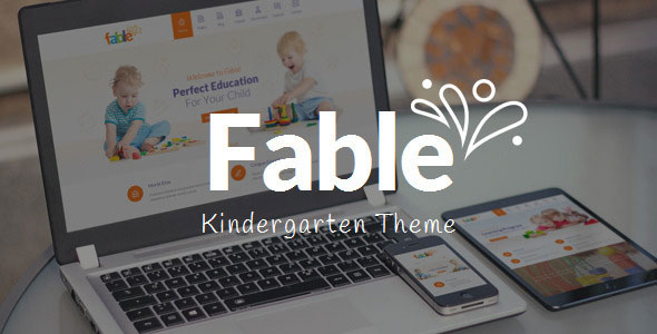 Fable v2.9 – Children Kindergarten WordPress Theme