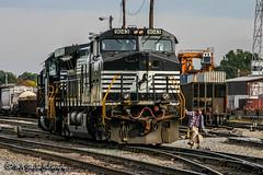 NS 9043 | GE C40-9W | NS Forrest Yard
