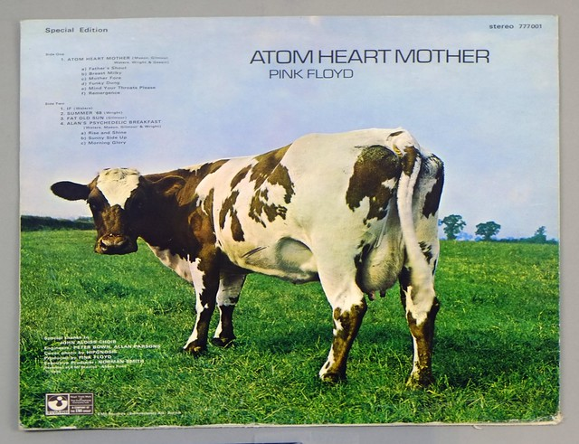 "Pink Floyd Atom Heart Mother Special Edition Switzerland / Swiss 12"" Vinyl LP"