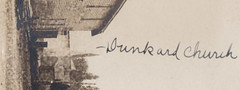 NW Manistee Onekama MI RPPC 1910 Barnstorms General Store & Mercantile Writer TALKS ABOUT WHORES -HOs- AND DRUNKARDS -CHURCH- & took the SS ILLINOIS FERRY TO GET TO VILLAGE4