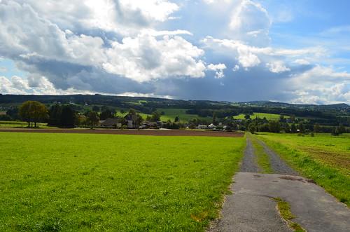 Landscape near Eudenbach