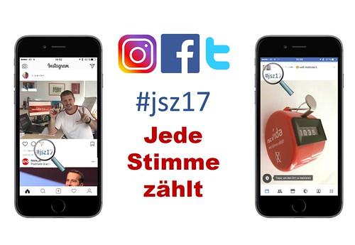 #JSZ17 Jede Stimme Zählt 2017