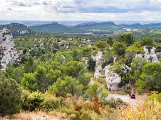 Kalksteinkette der Alpillen, Provence