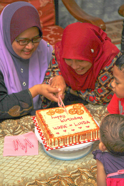 Wafa' & Linda birthday