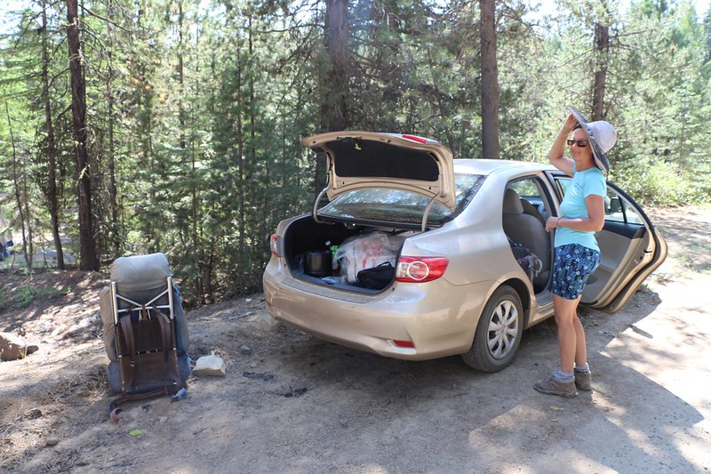 We loaded our gear into the car and got ready for the 15-hour drive back to San Diego - goodbye Dixie Butte!